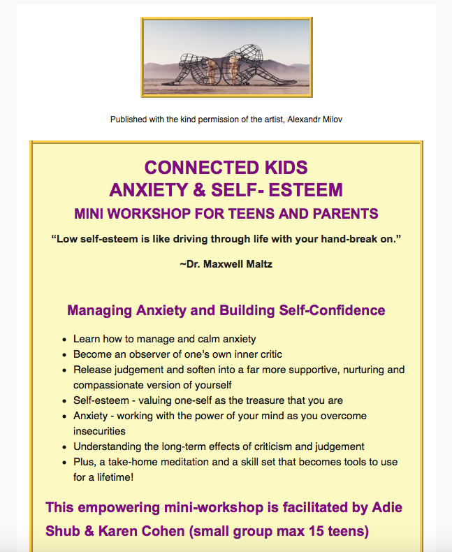 Anxiety and Stress a reality for our teens today!